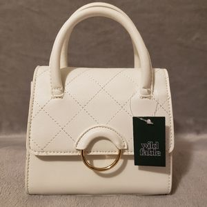 White Wild Fable Purse